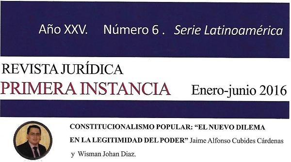 """Constitucionalismo popular: """"el nuevo dilema en la legitimidad del poder"""""""