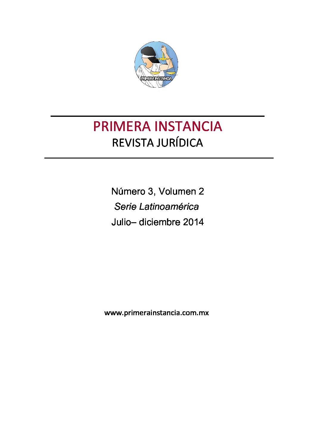 EDITORIAL 3 Jul-dic 2014