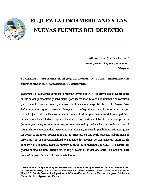 EL-JUEZ-LATINOAMERICANO-Y-LAS-NUEVAS-FUENTES-DEL-DERECHO.-Alfonso-Jaime-Martínez-Lazcano
