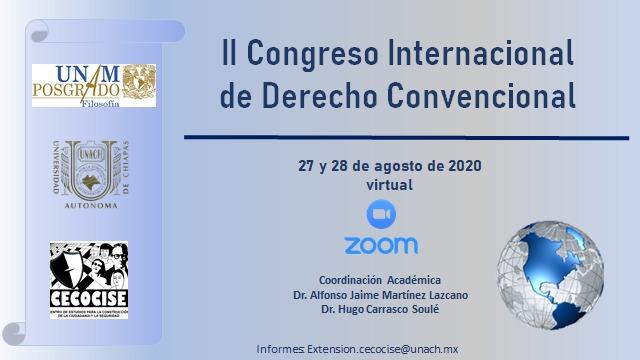 2 CONGRESO INTERNACIONAL DE DERECHO PROCESAL CONVENCIONAL Y EL SIDH