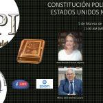 FORO: ANIVERSARIO DE LA CONSTITUCIÓN POLÍTICA DE LOS ESTADOS UNIDOS MEXICANOS