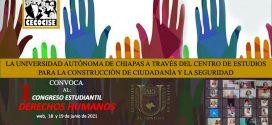1 Congreso Estudiantil de Derechos Humanos CECOCISE-UNACH