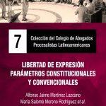 LIBRO 7 LIBERTAD DE EXPRESIÓN PARÁMETROS CONSTITUCIONALES Y CONVENCIONALES